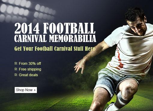 Football Carnival Memorabilia, From 30% OFF