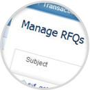 Manage RFQs