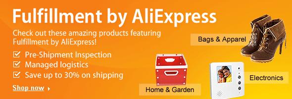 Fulfillment by AliExpress