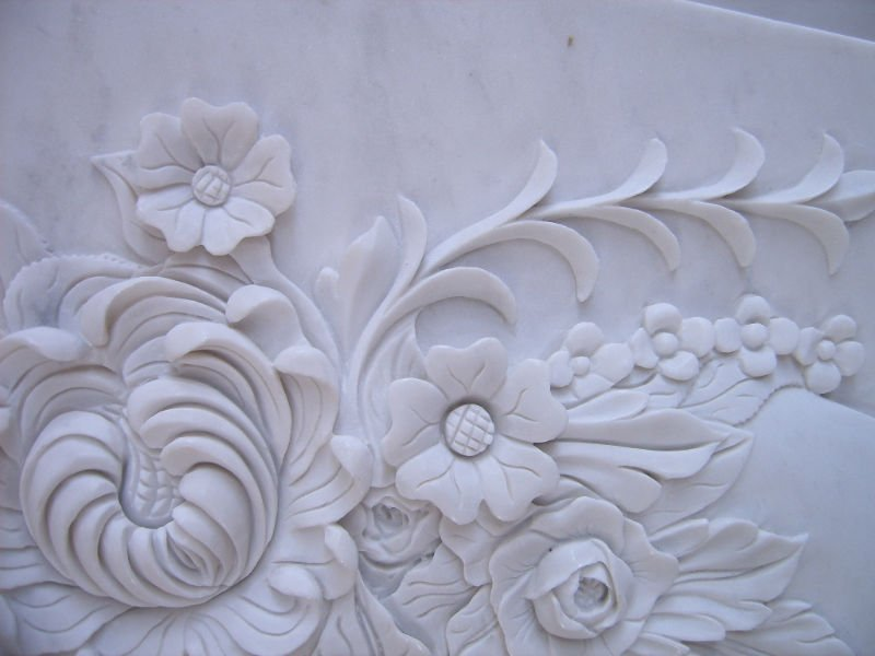 The gallery for gt relief sculpture flower