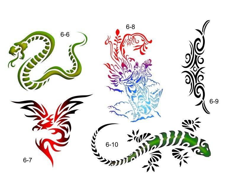 Татуировки шаблоны 78
