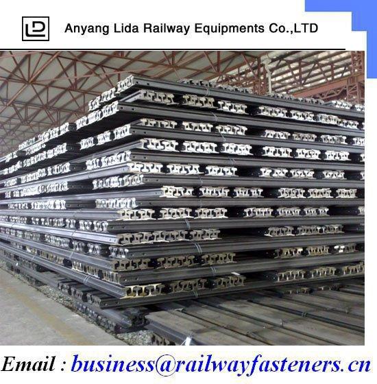 Uic54 Steel Rail/rail Track Fixtures/professional Manufacture