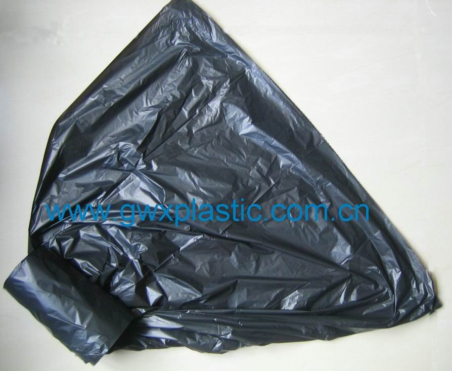 garbage bag on roll or in blocks
