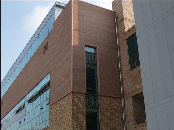 Exterior Aluminum Clad Plywood Panels : Wood panel cladding