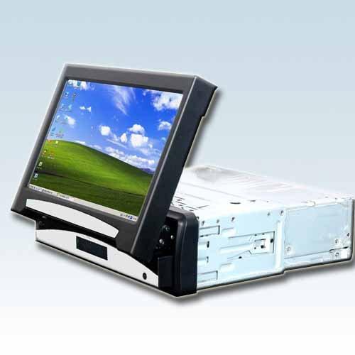 """7"""" Inch 1 Din In Dash Car lcd vga touchscreen monitor"""