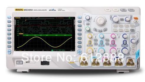 Free shipping MSO4054 Digital Oscilloscope 500MHz ...