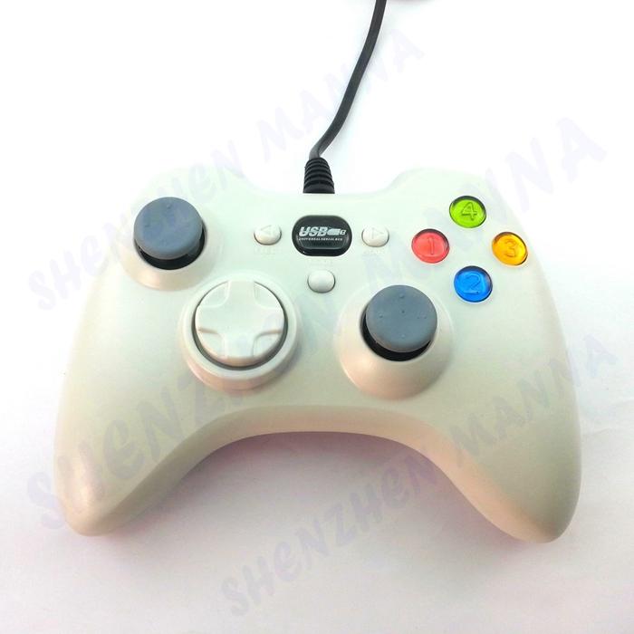 1PC FREE SHIPPING USB Wired Vibration Joypad Gamep...
