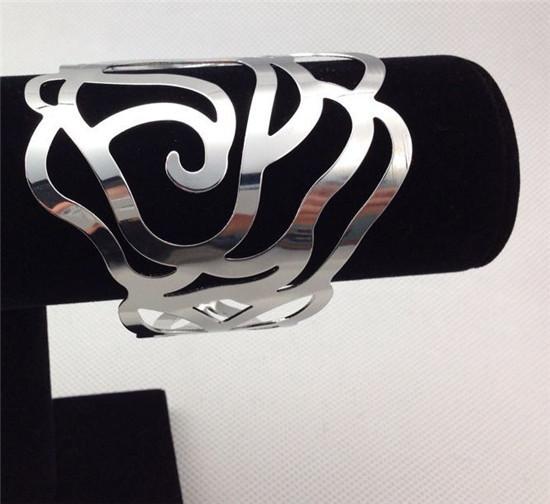 NEW!4pcs/lot Open Hollowed Charm Bracelet Lucky Clouds Design Gold Bracelets Hollow Opening Alloy Cuff Bracelets&Bangles JY-8712